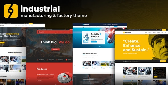Industrial – Corporate, Industry & Factory